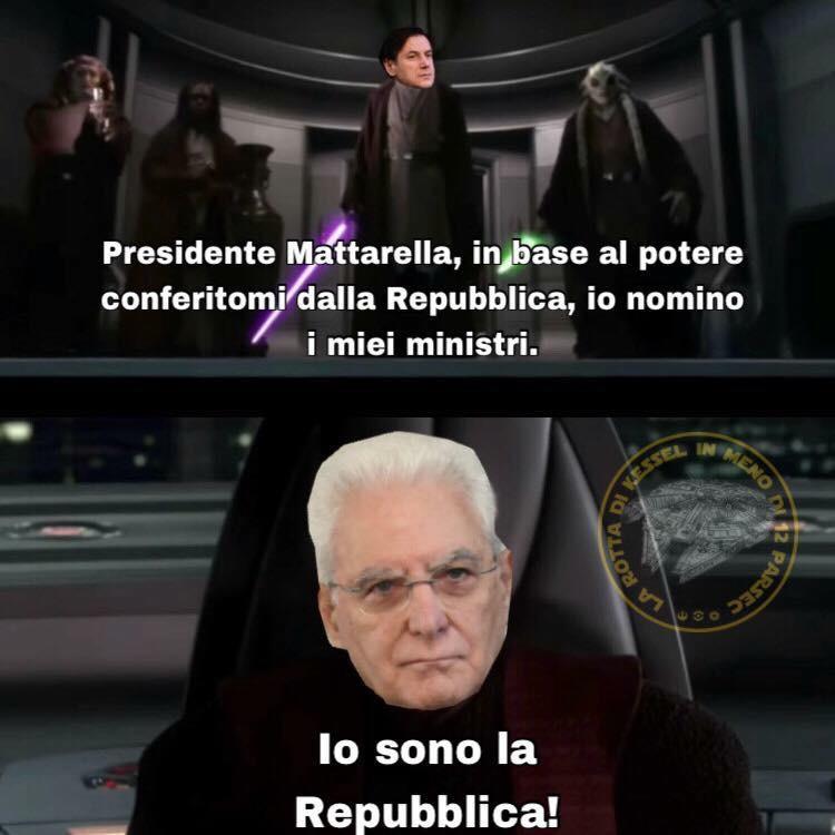 conte mattarella jedi meme