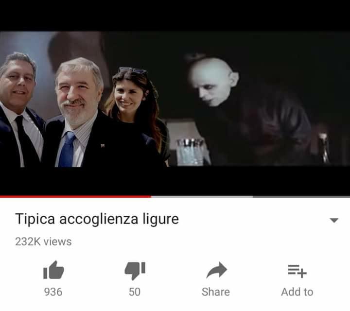 genowa shitposting meme genova tipica accoglienza ligure