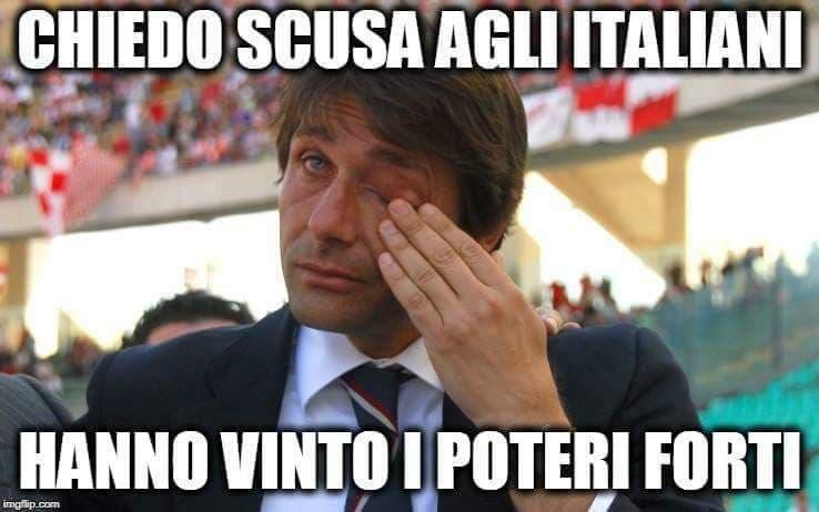 meme giuseppe conte antonio conte governo italia 2018