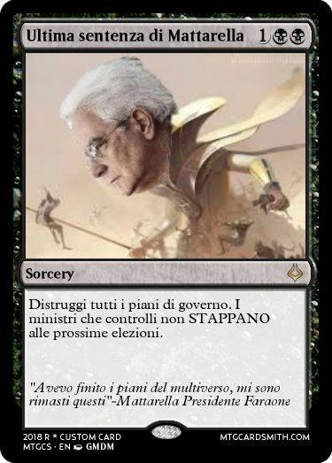 meme mattarella magic