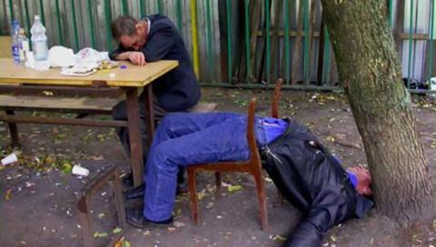 cagacazzi ubriaco da giovane