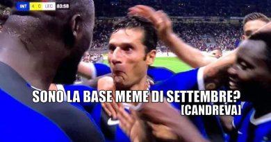 Meme Goal di Candreva: la base meme di settembre è qui!