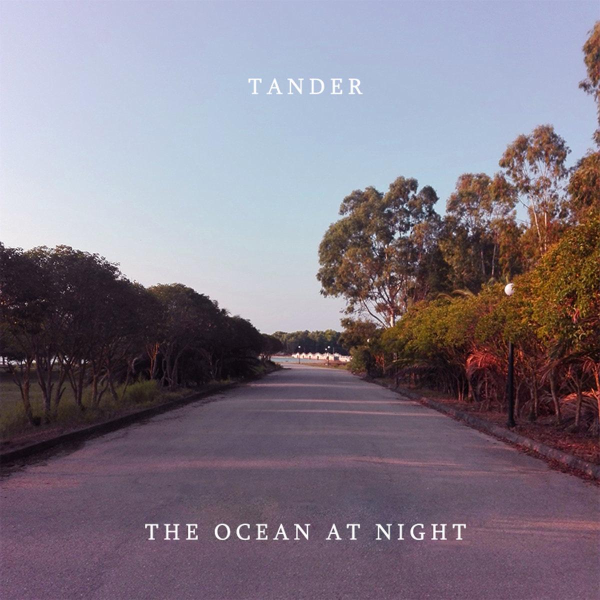 tander vaporwave lo fi hip hop the ocean at night