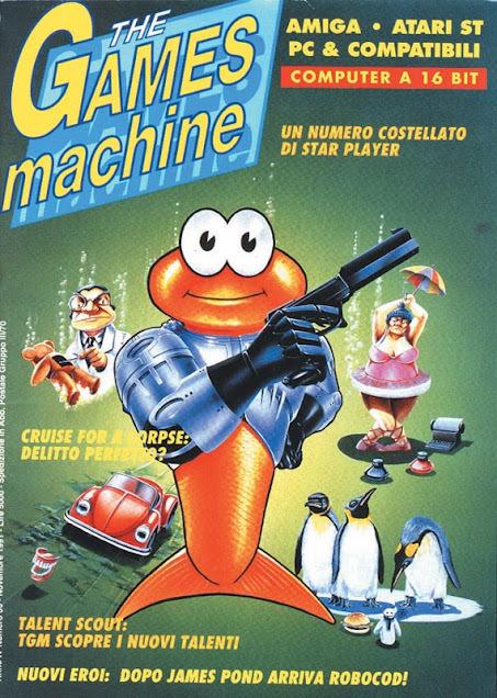 the-games-machine-james-pond anni 90